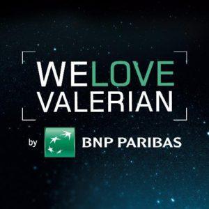 Valerian Film bei BNP Paribas